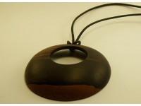 Кулон из эбенового дерева
