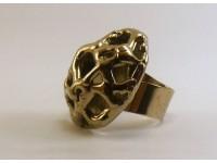Кольцо в серебре