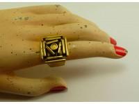 "Кольцо из бронзы ""Лабиринт"""