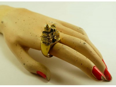 "Кольцо из бронзы ""Дворец"""