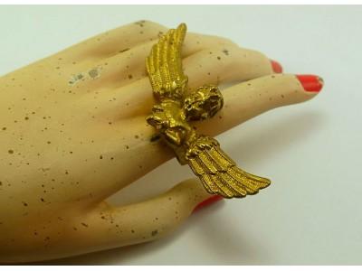 "Кольцо из бронзы ""Ангел"""