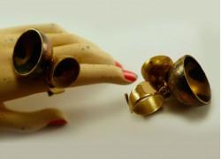 """Кольцо из бронзы """"Колокольчик"""""""