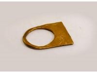 Кольцо плоское из бронзы
