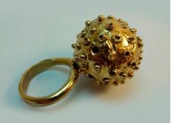 """Кольцо из бронзы """"Луна"""""""