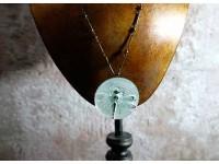 Кулон хрустальный с изображением стрекозы