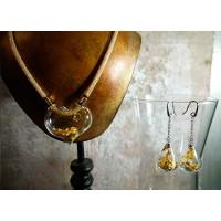 Ожерелье в форме сердца из стекла Мурано