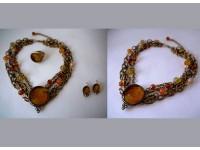 Ожерелье кольцо серьги 9-dn93de31