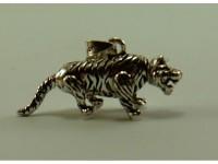 "Кулон серебряный ""Тигр"""