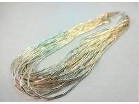 Ожерелье серебряное