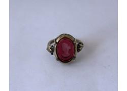 Кольцо из бронзы с 1 инталией